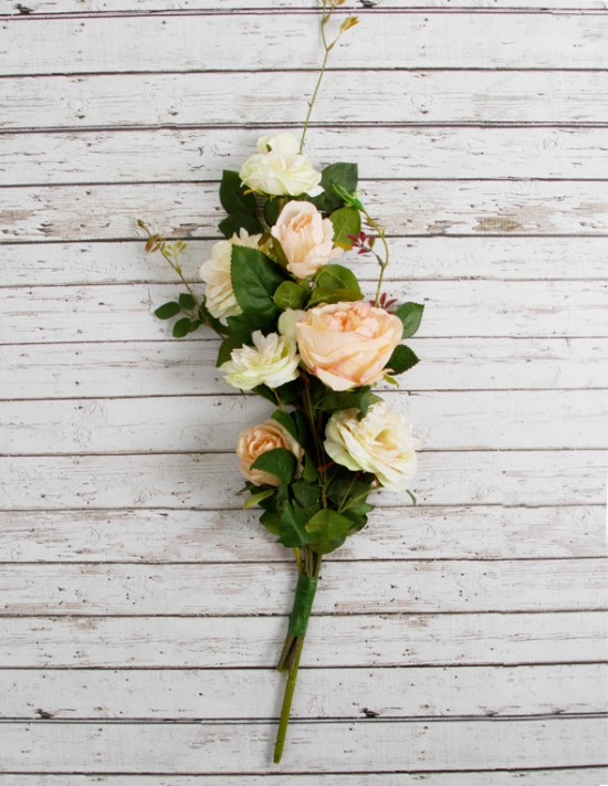 Step 2 550x711 DIY Wedding Decorations – Floral Garland Chair