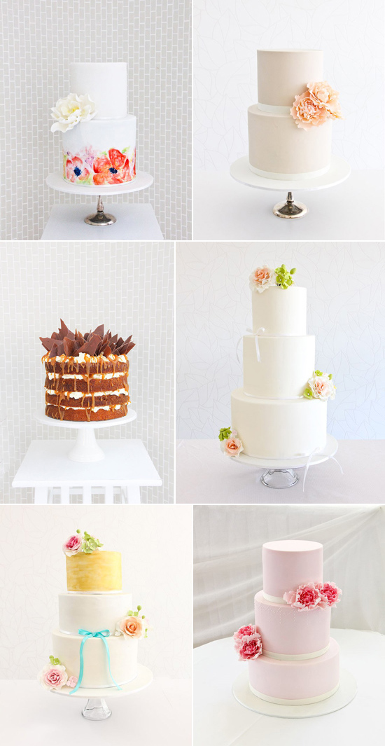 Sydney Wedding Cakes Vendor of the Week The Dainty Baker