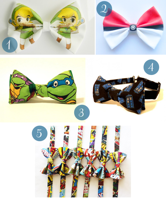 Unique Bow Ties Unique Bow Ties For Grooms Pop Culture Bow Ties