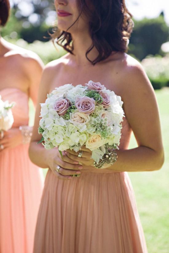 blush pink bridesmaid dress