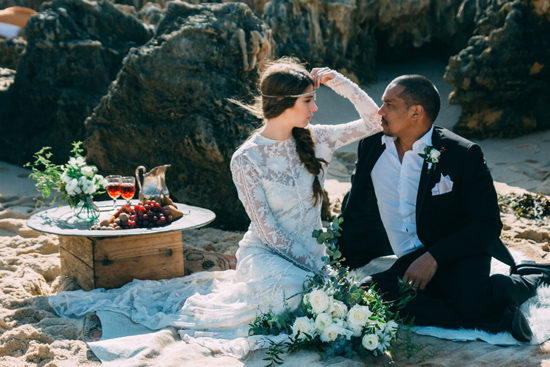 boho beach wedding ideas0007 Bohemian Beach Wedding Ideas