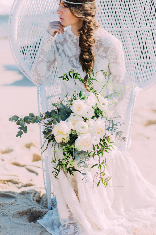 boho beach wedding ideas0023 Bohemian Beach Wedding Ideas