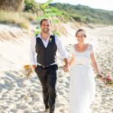bright casual beach wedding0039