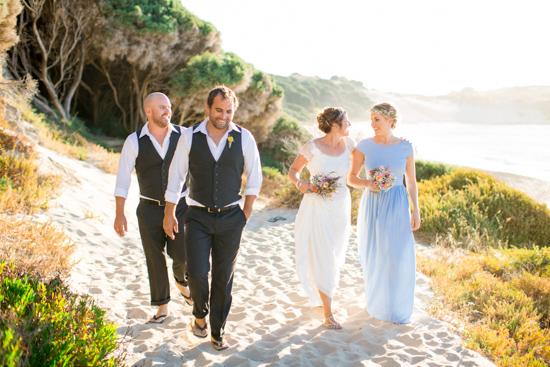 bright casual beach wedding0041
