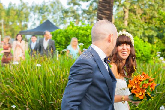 colourful farm wedding0020 Cyn & Daves Bright Farm Wedding