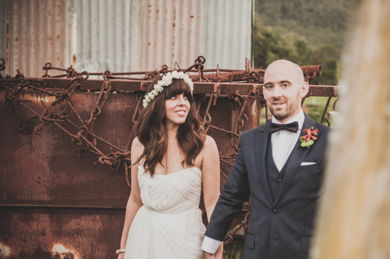 colourful farm wedding0034 Cyn & Daves Bright Farm Wedding