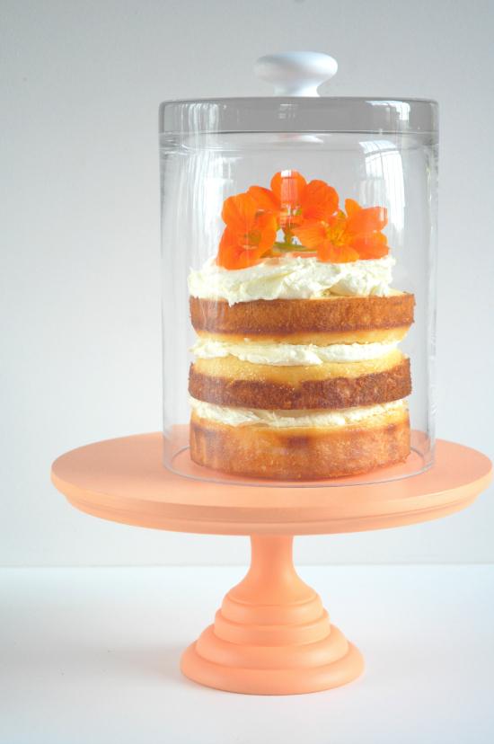 homemade cloche4 DIY Glass Cake Cover
