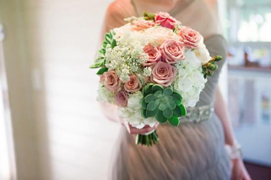 succulent wedding bouquet2354