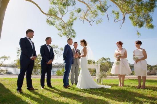 vintage wedding2330 550x366 Bonnie and Lukes Vintage Wedding In Fremantle