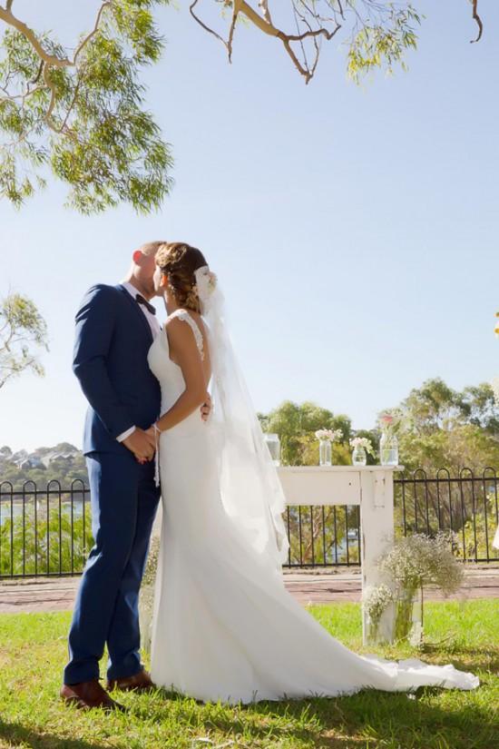 vintage wedding2331 550x825 Bonnie and Lukes Vintage Wedding In Fremantle