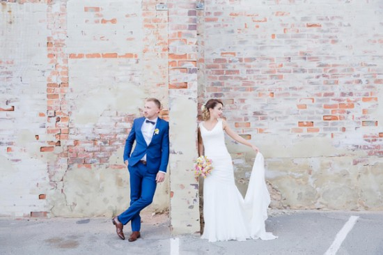 vintage wedding2335 550x366 Bonnie and Lukes Vintage Wedding In Fremantle