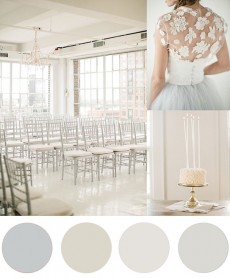 Christmas Colour Palette Creamy White and grey