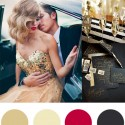 Christmas Colour Palette - Gold and Black