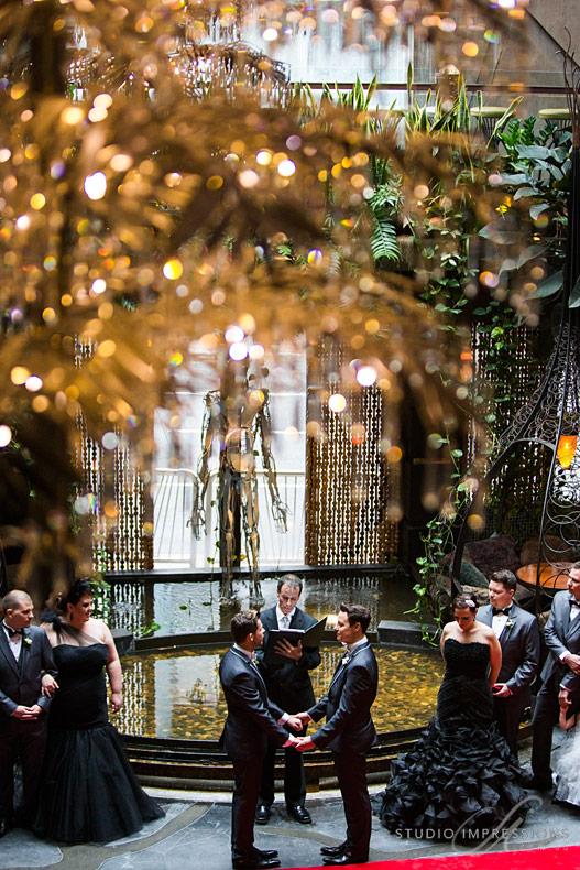 Gay Wedding at Cloudland