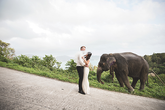 Kristina Childs 1 Snapshot Sunday A Kiss & An Elephant