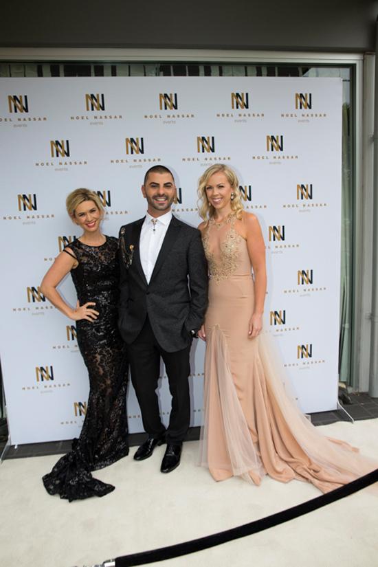 Noel Arriving with MC Rachel and guest Tanya0001