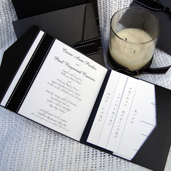 Our Love Pocketfold Wedding Invitations1 What Would they Know? Shannon Harcourt of Little Flamingo