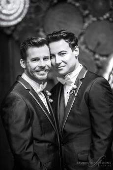 Same Sex Wedding at Cloudland7