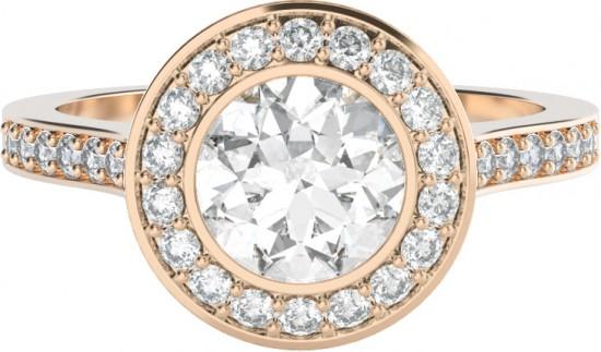 custom engagement ring 550x323 Custom Engagement Rings From StyleRocks