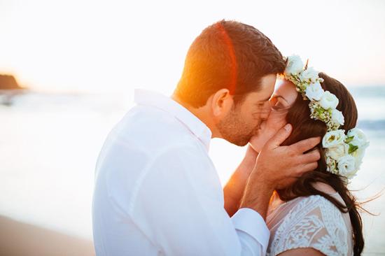 eco beach wedding0093 The Best Of Polka Dot Honeymoons 2014