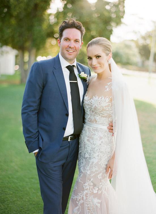 modern wedding by the river021 Polka Dot Weddings Top Posts of 2014