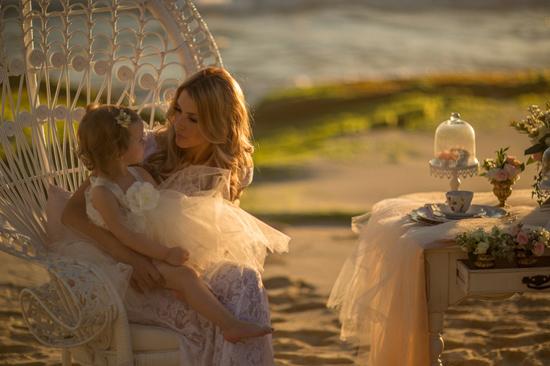 mother daughter beach wedding shoot0017 Mother Daughter Beach Wedding Ideas