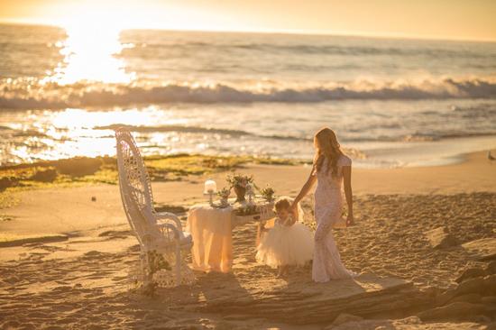 mother daughter beach wedding shoot0019 Mother Daughter Beach Wedding Ideas