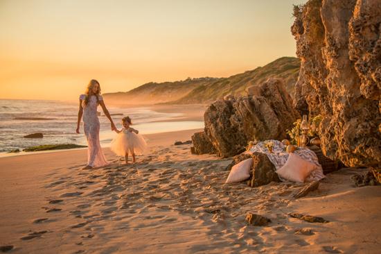 mother daughter beach wedding shoot0033 Mother Daughter Beach Wedding Ideas