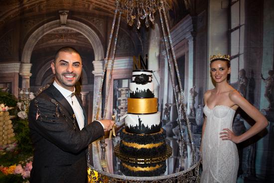 noel nassar and cake