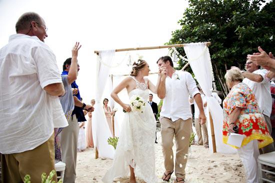 relaxed bali wedding032 The Best Of Polka Dot Honeymoons 2014
