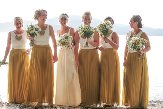 rustic beach side wedding031 A Look Back at Polka Dot Bride 2014