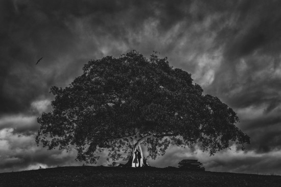 wobblywombat2 550x366 A Rainy Wedding Day