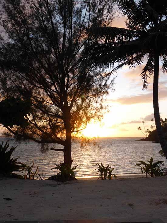 Cook Islands Sunrise