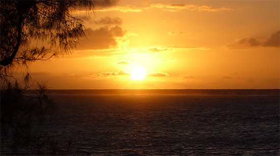 Cook Islands Sunrise