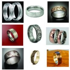 Mokume Gane Men's Rings