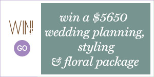 Win - Miss Mooi Giveaway Weddings