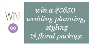 Win - Miss Mooi Giveaway Weddings