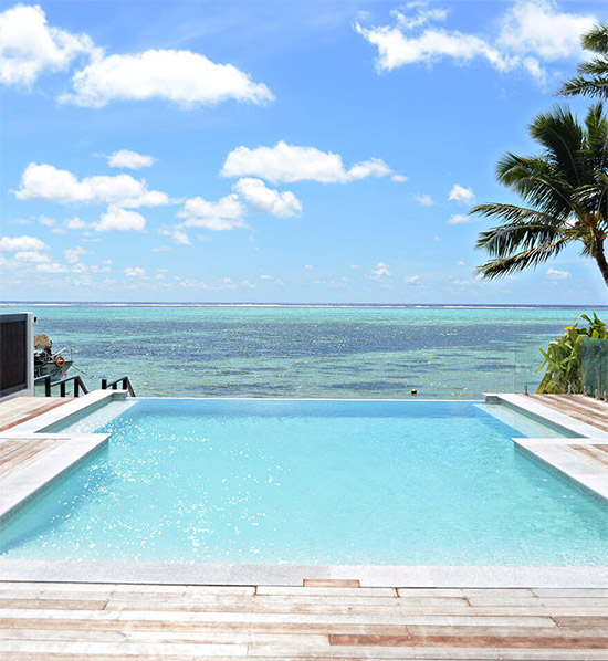 ccok isalnds crystal blue lagoon villas Friday Roundup