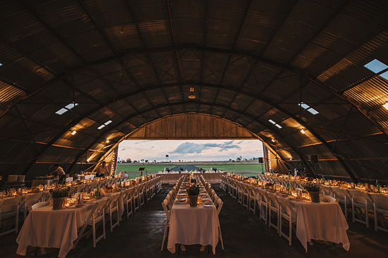 chic air hangar wedding00741 Why Australian Weddings Are My Favourite