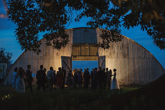 chic air hangar wedding0078