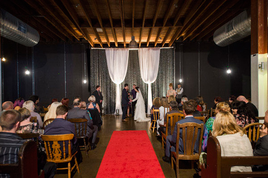 eclectic warehouse wedding0018 Charis and Brooks Eclectic Warehouse Wedding