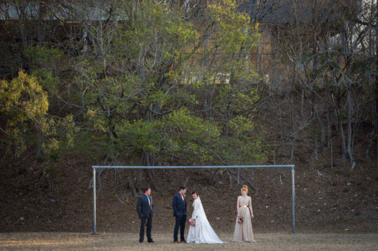 eclectic warehouse wedding0040
