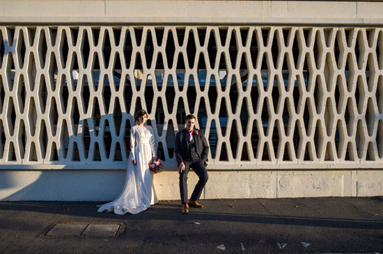eclectic warehouse wedding0045