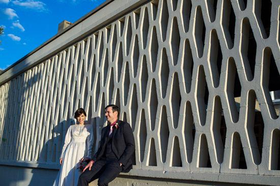 eclectic warehouse wedding0047
