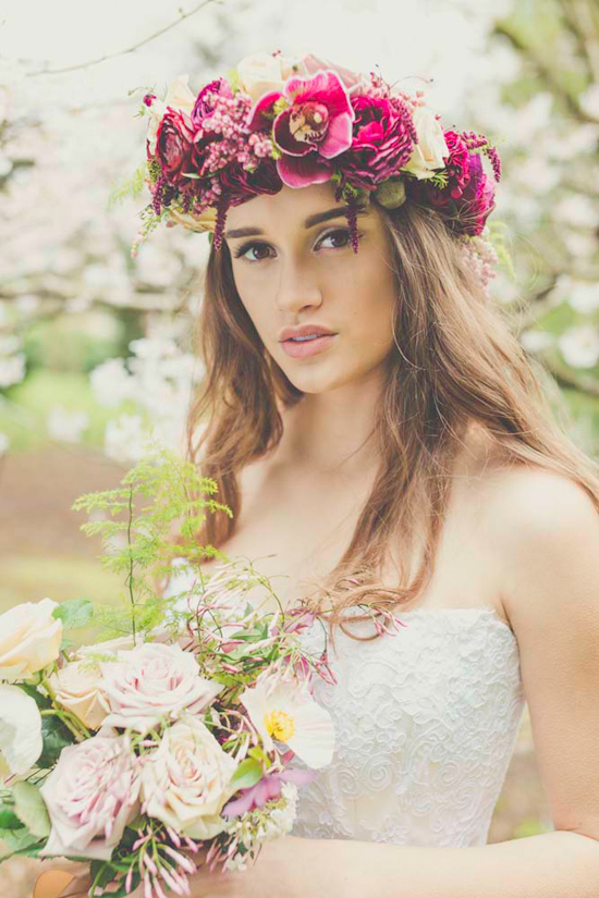 garden bridal inspiration0022 Garden Bridal Inspiration