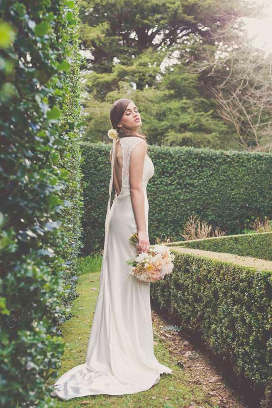 garden bridal inspiration0029 Garden Bridal Inspiration
