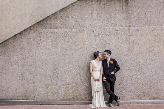 modern art gallery wedding0037 Ann and Serns Modern Art Gallery Wedding