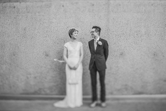 modern art gallery wedding0041 Ann and Serns Modern Art Gallery Wedding