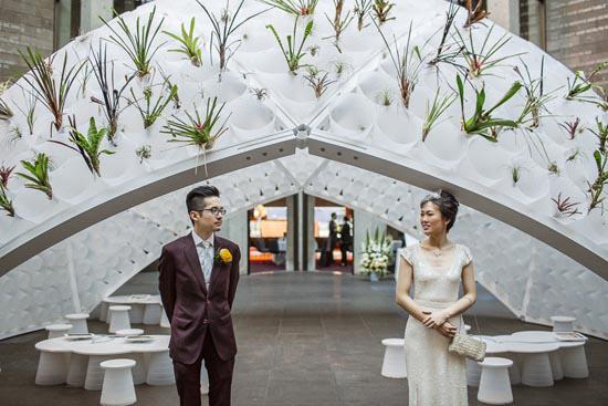 modern art gallery wedding0044 Ann and Serns Modern Art Gallery Wedding