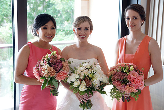 peach and pink formal wedding0007